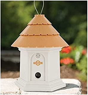 PetSafe Deluxe Outdoor Bark Control House White / Brown 8