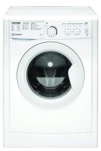 Indesit EWC 61051 W IT N, Lavatrice a carica frontale, 6 KG, F, 1000 GIRI MIN