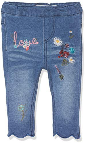 Name It Nbfbarbel DNM 3112 Legging Pantalon, Bleu (Dark Blue Denim), 58 (Taille Fabricant: 56) Bébé Fille