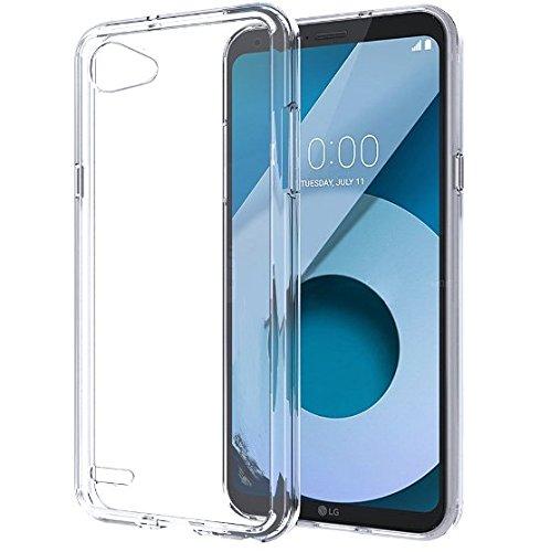 tomaxx LG Q6 - Hülle Schutzhülle Tasche Durchsichtig - transparent