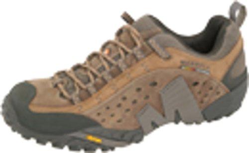 Merrell Herren Intercept Trekking-& Wanderhalbschuhe, Braun (Moth Braun), 42 EU