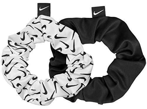 Nike Haargummis schwarz-weiß 2 Stück