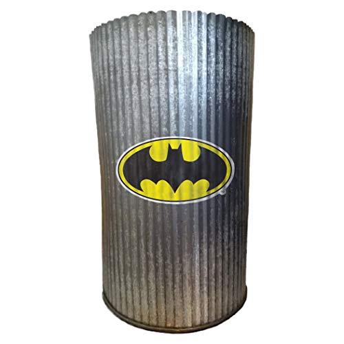 Applied Icon Vase cylindrique Unisexe WB Batman en métal, Multicolore, Taille Unique