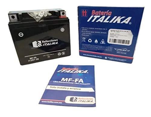 Bateria para moto italika motocicleta