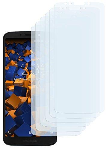 mumbi Schutzfolie kompatibel mit Motorola Moto G6 Play Folie klar, Bildschirmschutzfolie (6X)