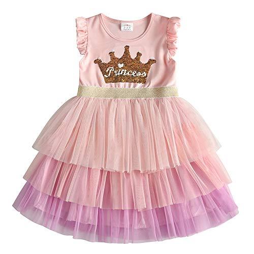 Geagodelia Baby Girl Christmas Dress Checked Tutu Christmas Clothing Outfits Princess Christening Dress Occasion Festive 1st Birthday Dress Autumn Winter 1-4 Years
