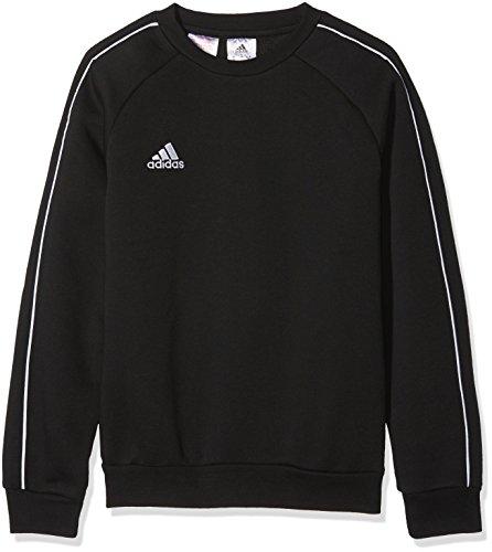 adidas Core 18 SS, Felpa Unisex Bambini, Nero (Black/White), 140 (9-10 Anni)