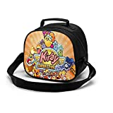 Kirby Lunch Bag Cute Lunch Box Waterproof Ice Pack Reusable Lunch Tote Portable Meal Bag for Kids Boys Girls