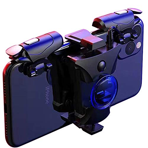 PUBG Mobile Trigger, PB906 Rapid-Fire Mode Mobile Game Controllers para PUBG /...
