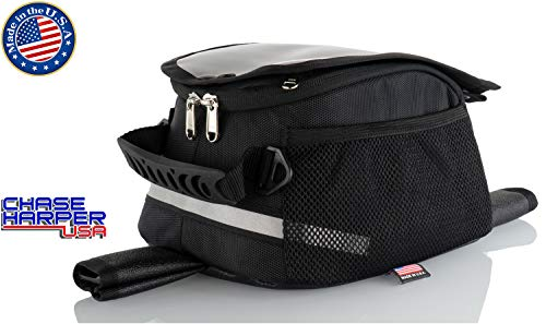 Chase Harper USA 409M Magnetic Tank Bag - Water-Resistant, Tear-Resistant, Industrial Grade Ballistic Nylon with Anti-Scratch Rubberized Polymer Bottom, Super Strong Neodymium Magnets