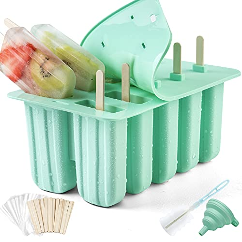 Popsicle Molds, Silicone Ice Pop Molds, BPA Free...