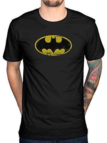 Official Batman Vintage Logo T-Shirt