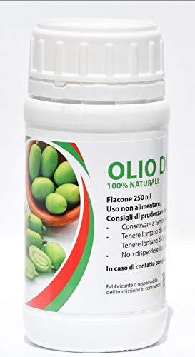 bioalt Hidratante Olio di neem 250 ml insecticida Orgánico Jardín 100% Huerta Natural Uso Profesional