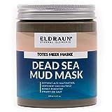 Totes Meer Schlamm Maske von ELDRAUN • reinigt, strafft und verfeinert die Haut • mit weißer Tonerde, Aloe Vera und Shea Butter • 250 ml / 290 g • Anti Aging Dead Sea Mud Mask