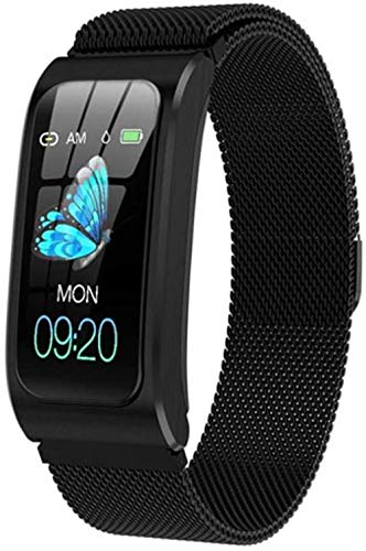 Reloj Inteligente Mujeres Hombres Impermeable Frecuencia Cardíaca Cronómetro Reloj Despertador Fitness Tracker Natación Reloj