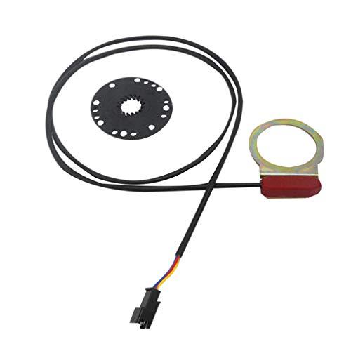 Weilifang Bicicleta eléctrica Assist Sensor E-Bici del Pedal Asistant Tipo de Metal...