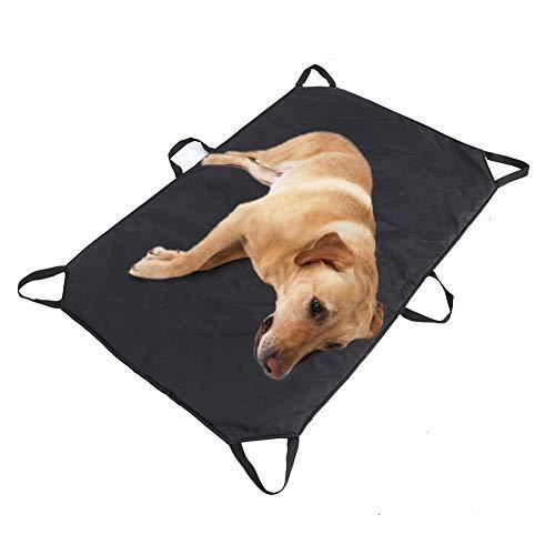 TUYU Materassino di trasporto per cani e altri animali, Barella di sicurezza per cuccioli di cane, barella sicura con 6 maniglie 2018CWL00168BLAJ01