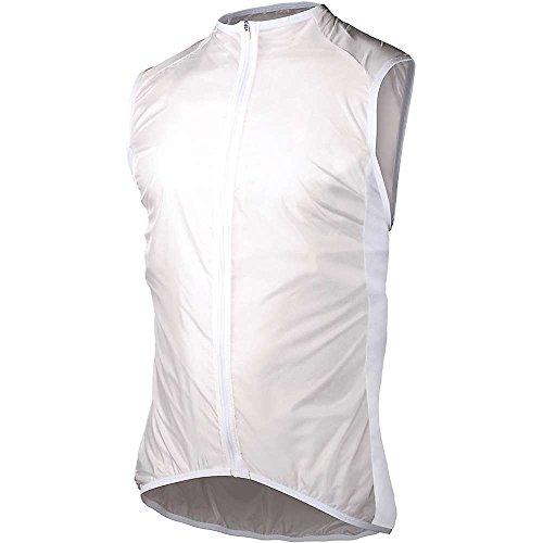 POC Avip WO LT Wind Weste Radfahren Wasserdicht, Damen M Weiß (hydrogen White)