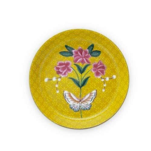 PiP Studio Tea Tip Blushing Birds Yellow 9cm