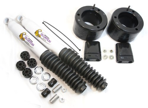 """Daystar, Dodge RAM 2500/3500 2"""" Leveling Kit with bump stops and front shocks, fits production date of May 2013 to 2017 4WD, all transmissions, all cabs, Does not fit Power Wagon KC09138BK, Made in America"""