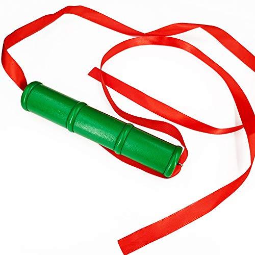 Bamboo Acc for Kamado Nezuko Cosplay Nezuko Bamboo Muzzle with Red Ribbon for Costume Cosplay Accessory