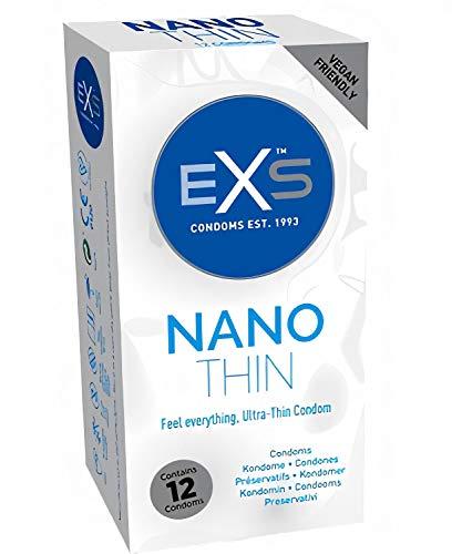 EXS Kondoms Nano Thin Kondome, 12 Stück