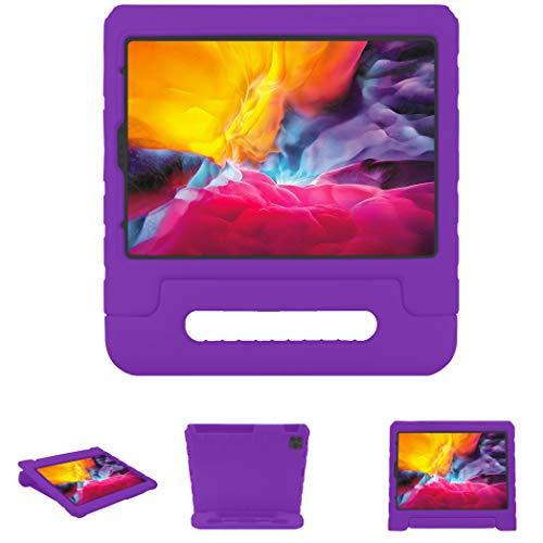 iMoshion - Funda para tablet con asa compatible con iPad Pro 11 (2020), color morado