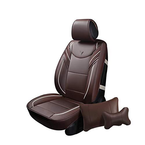HRFHLHY - Funda para asiento de coche de cinco asientos compatible con Jaguar Series: XJ, XF, XK, XE