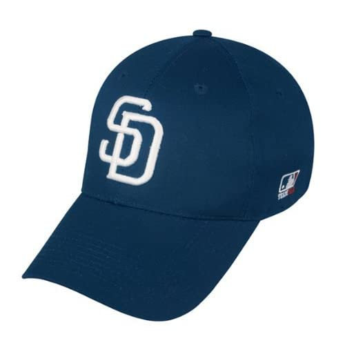 a76d0c02392 San Diego Padres (Home - White SD) ADULT Adjustable Hat MLB Officially  Licensed Major
