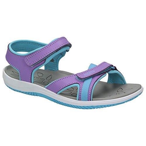 Keen KEEN Harper Kinder Leder Sandale Klettverschluss Mädchen Riemen Schuhe Freizeit