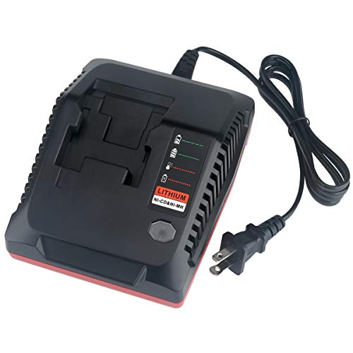 Lasica 18V 3.0A Fast Battery Charger PCXMVC Replacement for Porter-Cable 18-Volt NiCad, NiMh & Lithium-Ion Cordless Tool Battery Packs PC18BL PC18BLEX Porter Cable 18V Battery Charger PCMVC PCC489N