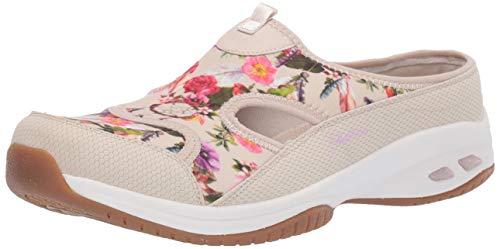 Skechers Damen Open Back Commute Time - Ocean Pine - Quarter Cut Out, hinten offen, Natur, 35.5 EU