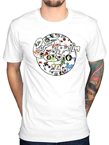 Offiziell Led Zeppelin III Circle T-Shirt