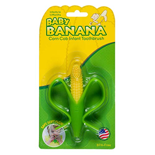 PRINCE LIONHEART Brosse à Dents Baby Banana Épis de Maïs