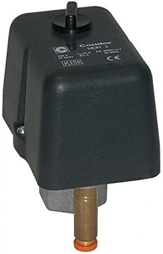 Condor Druckschalter MDR 2/11 bar EA Komplettset inkl. Anlaufentlastungsventil AEV2S und Ein/Aus Schalter