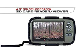 top rated Stealth cam SD card reader and viewer with 4.3 inch LCD display 2021