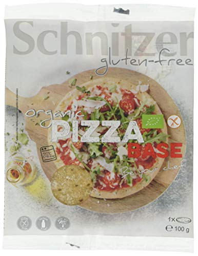 Schnitzer Pizzaboden, glutenfrei (100 g) - Bio