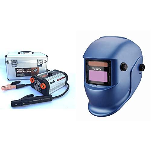Cevik Ce-Evolution18X - Equipo De Soldadura Inverter, 140 A, 230 V+ 1 Pe600S, Azul, Mediano
