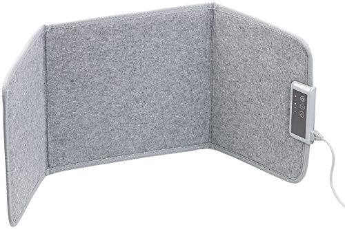 Sichler Haushaltsgeräte Infrarot Heizwand: Faltbares Fern-Infrarot-Heizpanel, bis 65 °C, 85 Watt, Größe S (Faltbare Infrarotheizung)