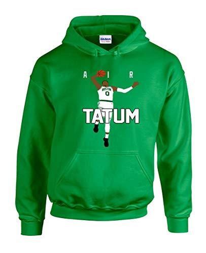 Green Boston Tatum Air Pic Hooded Sweatshirt Adult