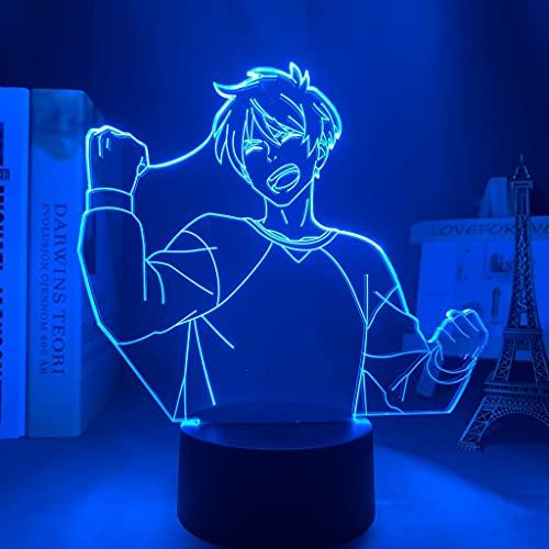 Led Lampada Notte Anime Il Millionaire Detective Equilibrio Illimitato per Camera Da Letto Decor Regalo Fugou Keiji Equilibrio 3D Luce Haru Kato