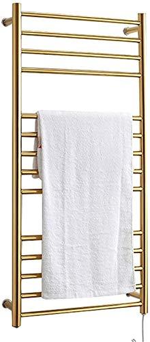 Toallero calefactado montado en la pared, Railleñas de toallas con calefacción Rieles de toallas, calentador de toallas de pared, toalla eléctrica de toalla con calefacción con 14 barras, 43.3 × 20.5