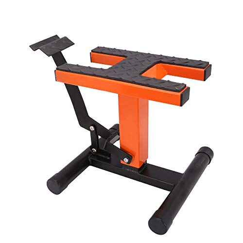 Mx Dirt Bike Lift Stand - Motorcycle Stands and Lifts Jack Repair Stand Adjustable For K.T.M 125 250