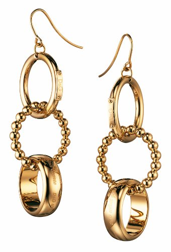 Dolce&Gabbana Dolce & Gabbana - DJ0659 - Pendientes de mujer de acero inoxidable, 5 cm