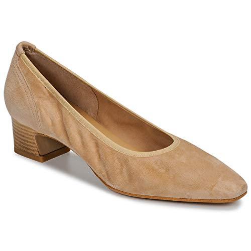 Perlato 11129-velours-misia Pumps Damen Beige - 38 - Pumps Shoes