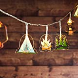 Lights4fun, Inc. 12 Woodland Camping Battery Operated LED Indoor...
