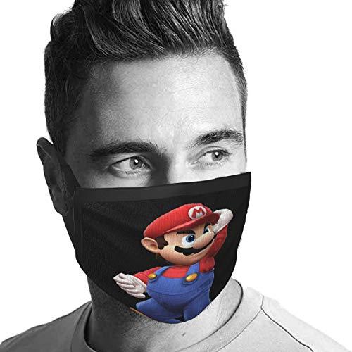 Super Smash Bros. Para 3D y Wii U Bros. Maker Bandana facial antipolvo y viento, protección solar para mujeres y hombres
