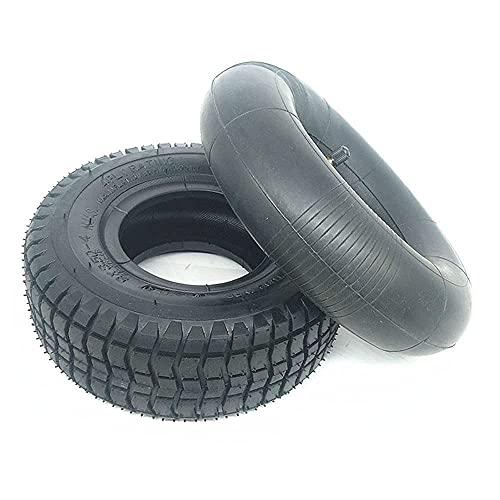 Neumáticos de scooter eléctrico, 9x3.50-4 Neumáticos antideslizantes resistentes al desgaste + Ruedas de aleación de aluminio, Adecuado para accesorios de rueda de scooter eléctrico de 9 pulgadas, ru