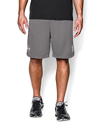 Under Armour - Yoga-Shorts für Herren in Storm (078)/Weiß, Größe S