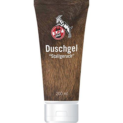 1. FC Köln Duschgel - Stallgeruch - Shower Gel - Plus Lesezeichen I Love Köln